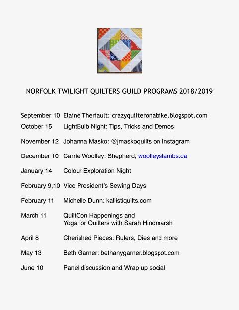 TQG program 2018-19